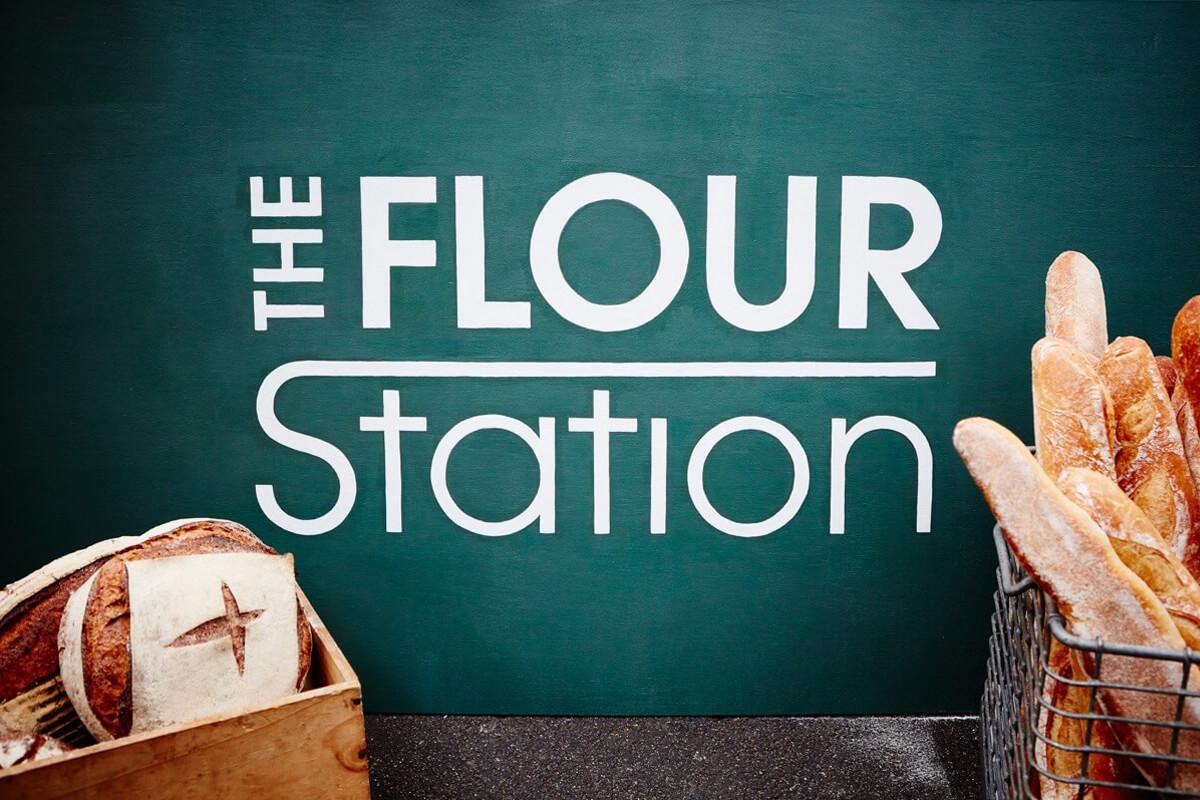 The Flour Station branding by Broadbase