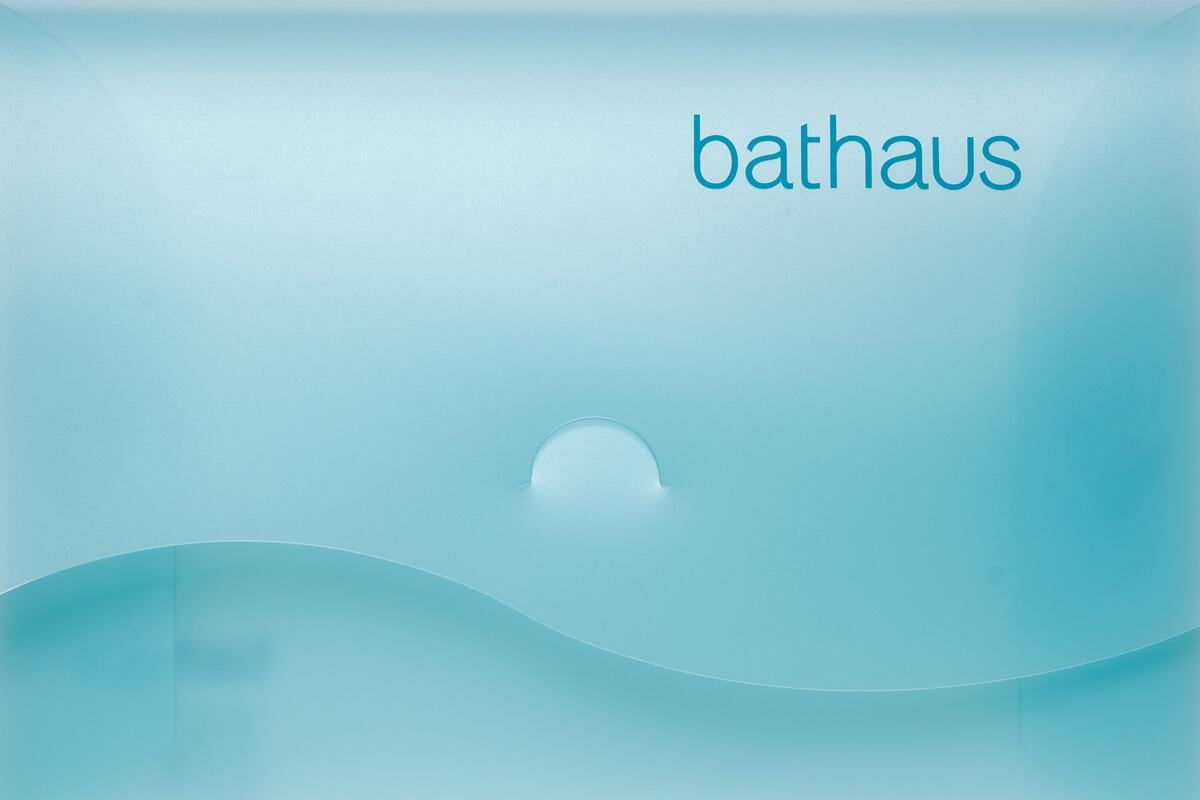 Bathaus branding by Broadbase