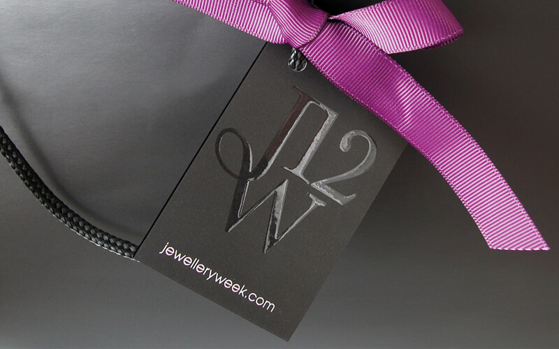 Jewellery Week branding by Broadbase