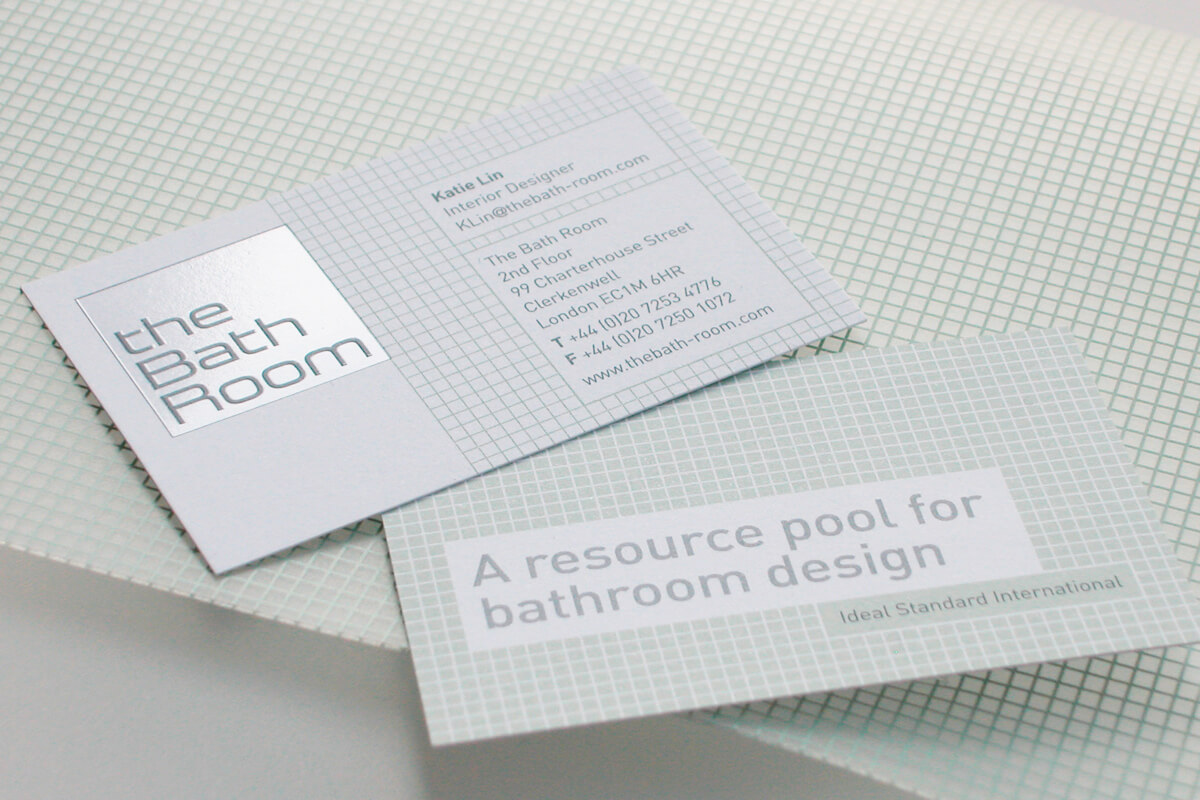 Print collateral: stationery design by Broadbase