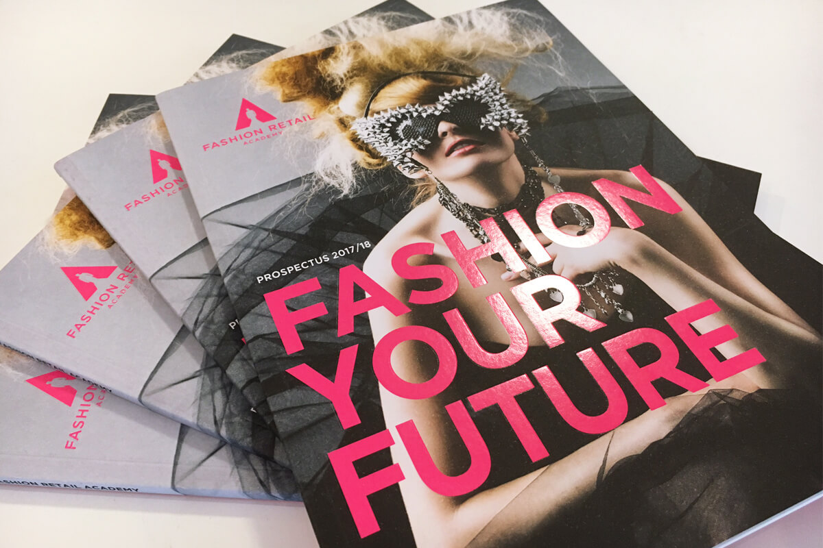 Print collateral: FRA Prospectus designed by Broadbase
